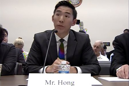 David Hong represents One Acre Fund at the House Committee on Foreign Affairs