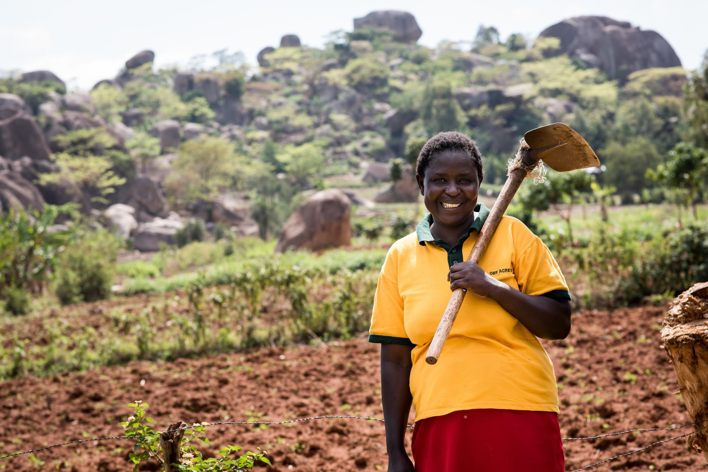 Judith Wanyama, One Acre Fund