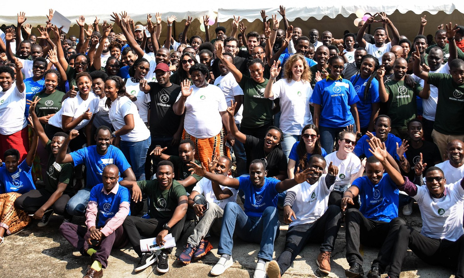 Rwanda All Staff Appreciation - Group Photo